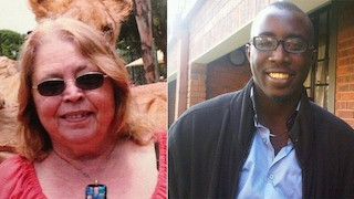 Jette Jacobs and Orowo Jesse Omokoh