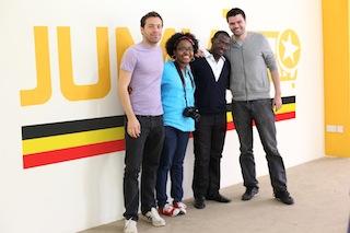Jumia team in Uganda