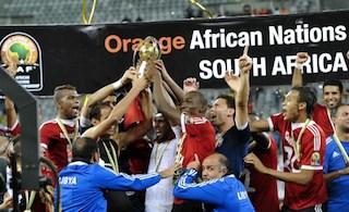 Libyan players at CHAN 2014