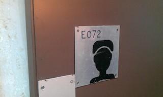 Toilet signs at MMIA