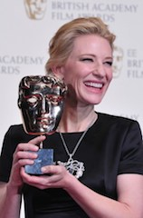 Cate Blanchett: wins best actress award