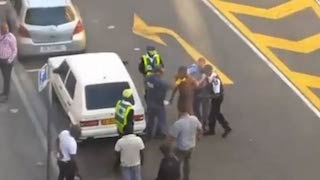 The Nigerian being brutalised by Cape Town police