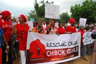 Nigerian women protest