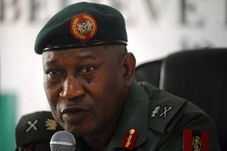 Defence spokesman Major-General Chris Olukolade