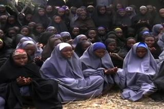 A screengrab of the irks praying.  AFP