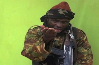 AFP shows a man claiming to be the leader of Nigerian Islamist extremist group Boko Haram  Abubakar Shekau.