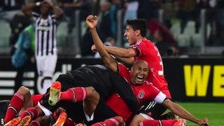 Benfica through to the final
