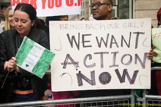Bring back our girls protest-18