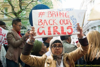 Bring back our girls protest-42