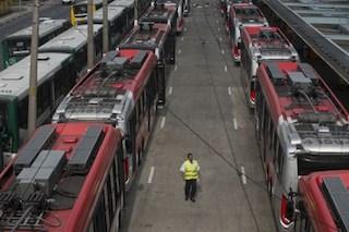 BRAZIL-TRANSPORT-BUS-STRIKE