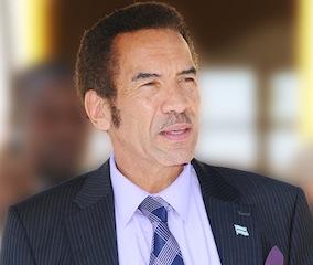 President Ian Khama