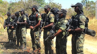 Camerounian Army says Nigerian soldiers fled to their country