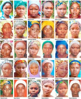 Chibok girls abducted by Boko Haram