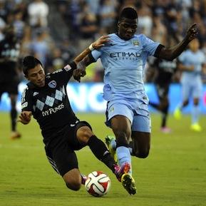 FBL-US-Manchester City-Sporting Kansas City