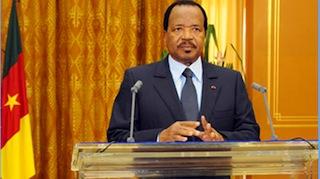President Paul Biya: reveals Chadian troop support
