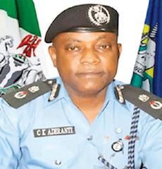 Aderanti, Lagos police boss