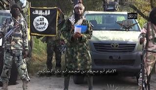 Boko Haram leader, Abubakar Shekau and his lieutenants