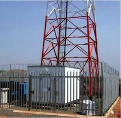 A telecoms base station