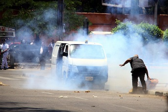 Twin blasts near presidential palace in Egypt