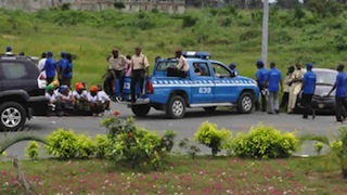 FRSC at the scene of an accident