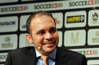 FIFA vice-president Prince Ali Bin al-Hussein