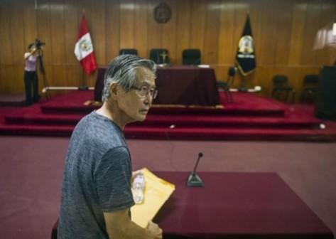 Alberto Fujimori: gets 8 years jail term for embezzlement