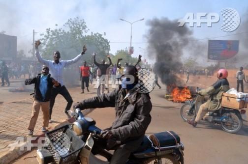 Charlie Hebdo protests in Niamey