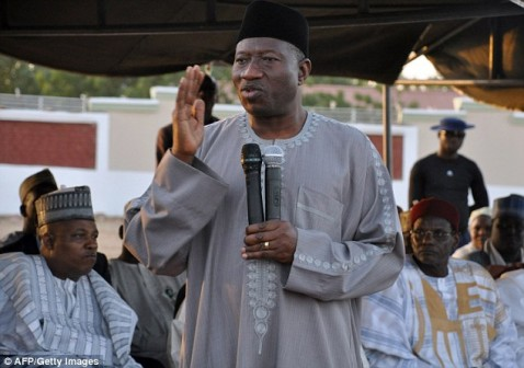 President Goodluck Jonathan : no Laurent Gbagbo plan