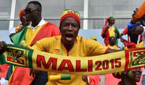A Mali supporter