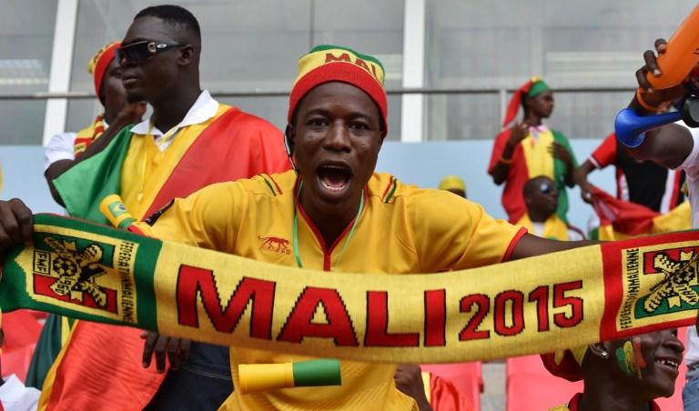 A Mali supporter in Equatorial Guinea