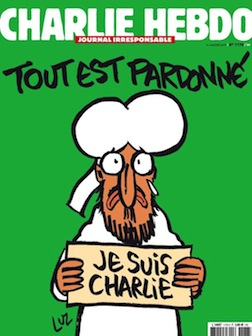Charlie Hebdo first edition since the Paris attack