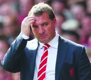 •Bredan Rodgers of Liverpool