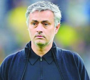 •Chelsea's Jose Mourinho