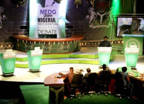 The NEDG debate where Goodluck Jonathan debated with himself in 2011