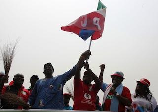 Flag business; Fashola, Ambode, Ajomale