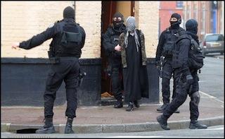 French anti-terror police