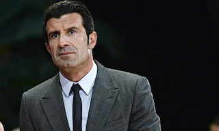 Luis Figo: backed by Chelsea manager, Jose Mourinho