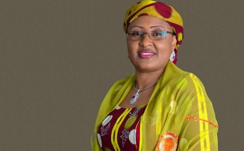 Aisha Buhari: supports husband's view on illegality of Office of First Lady
