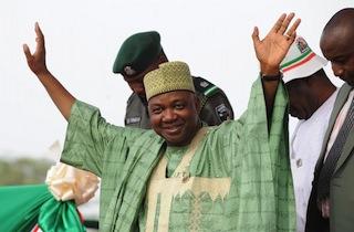 Nigeria's Vice President Namadi Sambo ra