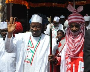 PIC 5  PDP PRESIDENTIAL RALLY IN KANO