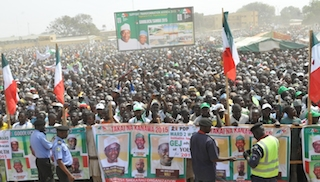 Another view of the PDP supporters in Kano