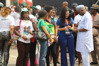 Nollywood actresses add to the side attraction