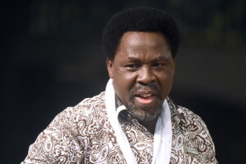 Pastor T.B. Joshua of Synagogue Church Of All Nations