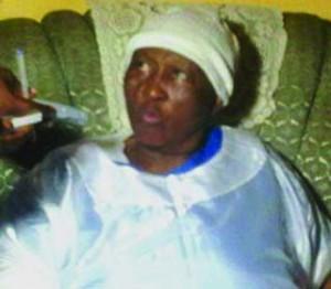 •Widow Alice Peter- Buried 6 children in 4 years