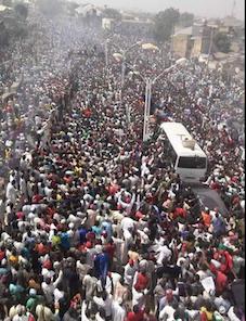 crowd at kano