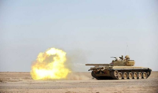 A T-72 tank Nigeria is buying for at least $8million each
