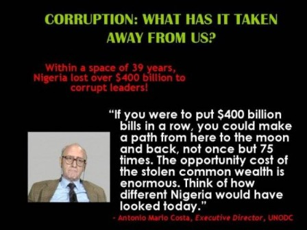 the cost of Nigerian corruption
