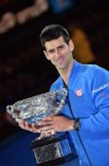 Djokovic with Aussie Open crown