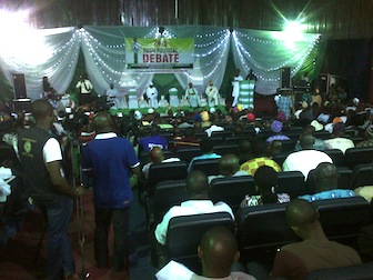 The governorship debate conducted by the Nigeria Union of Journalists Ogun chapter