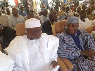 L-R: Aminu Tambuwal and Governor Aliyu Wamakko